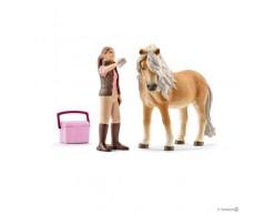 Грумер с исландской пони Schleich 41431